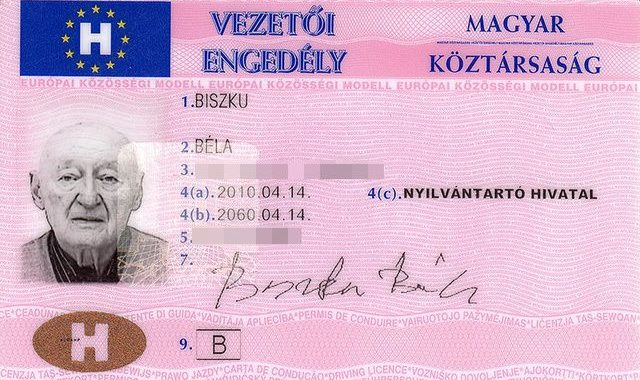 Buy Hungarian driver's license