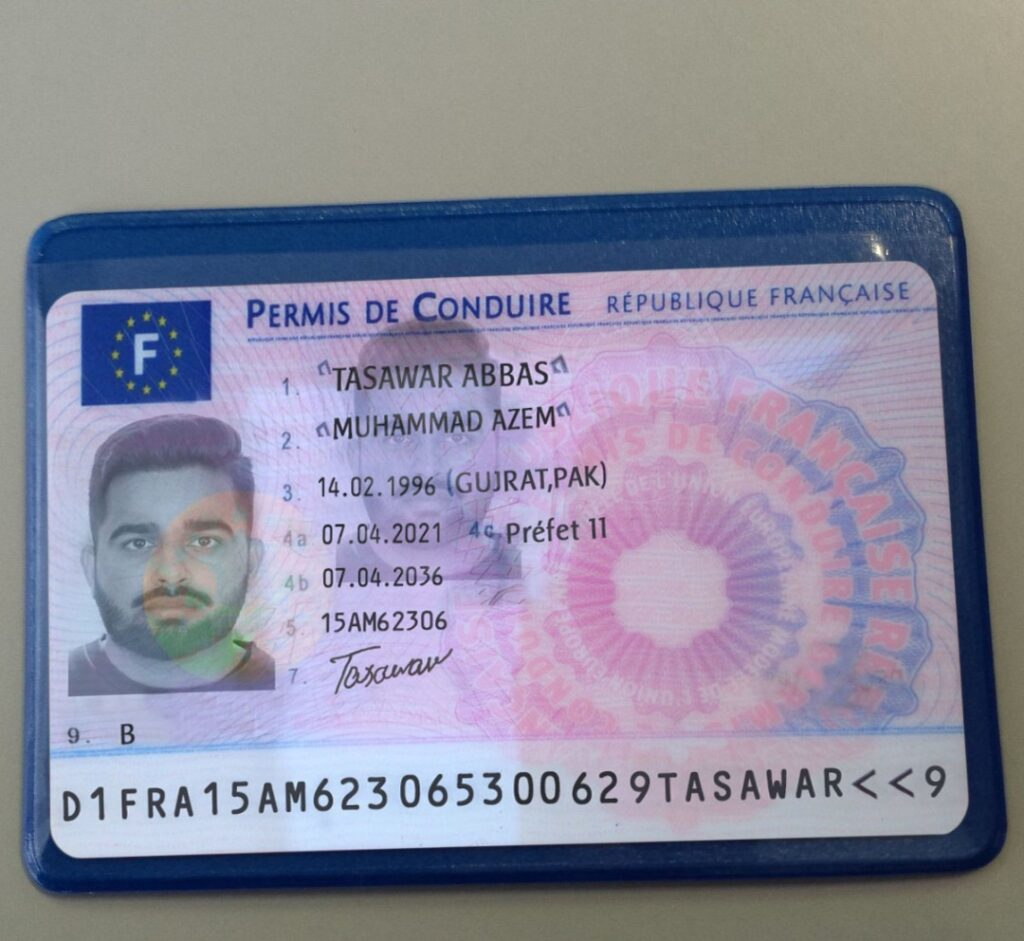 Buy French driving license online
